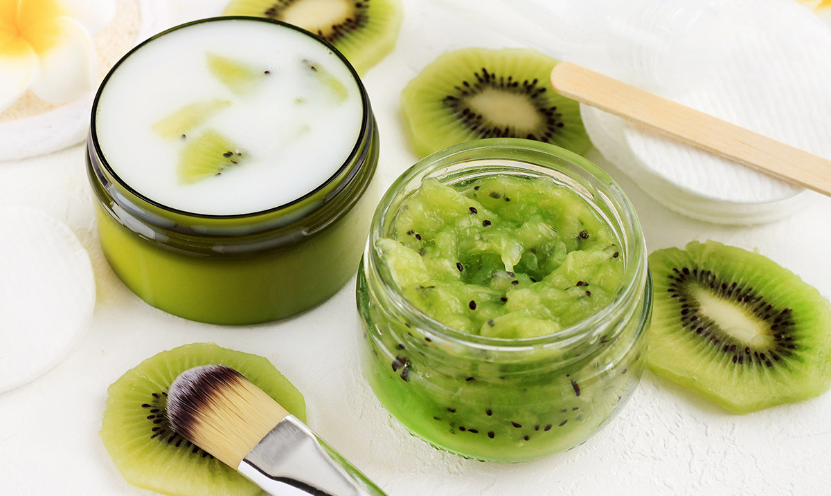 come fare la maschera allo yogurt e kiwi