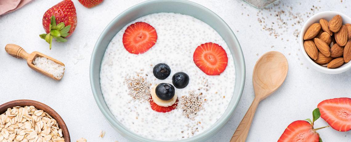 Una perfetta colazione per bambini per iniziare la scuola al meglio!