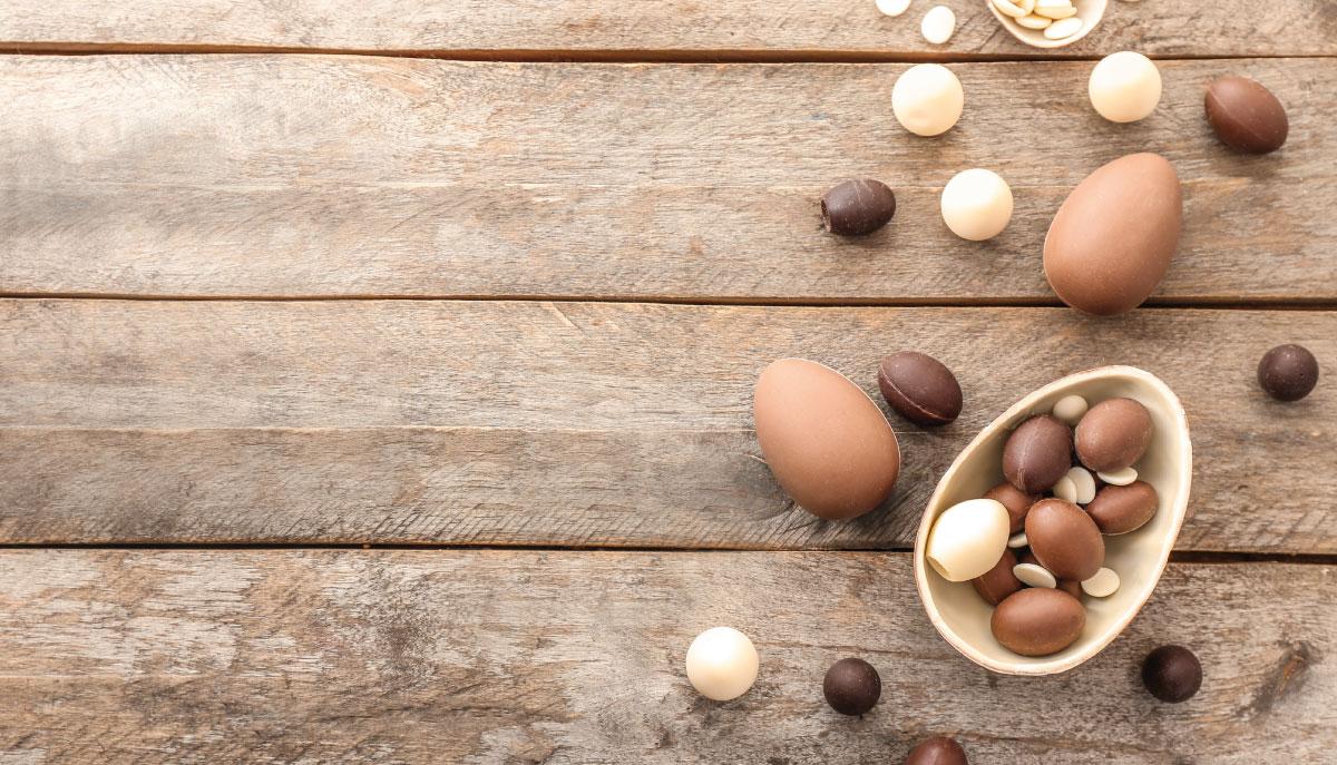 cioccolato di pasqua da riutilizzare