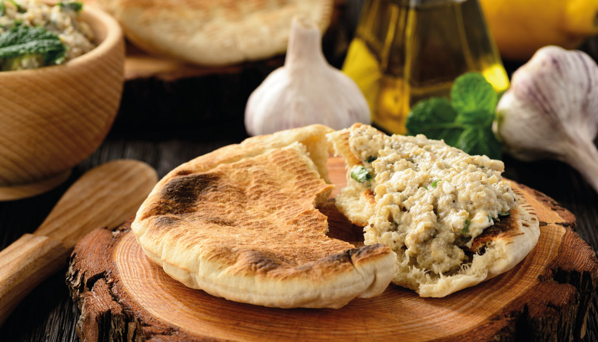 melitzanosalata salsa greca