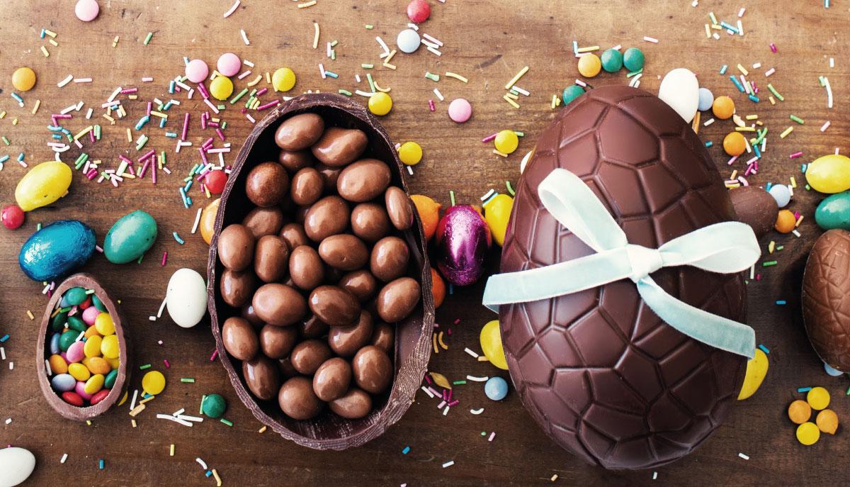 Un modo delizioso per riciclare il cioccolato delle uova di Pasqua