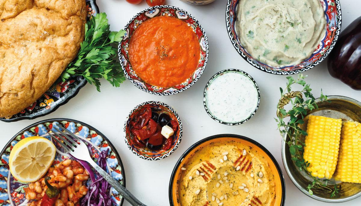 salse greche per aperitivo