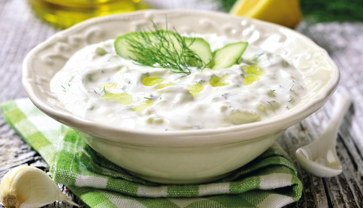 tzatziki salsa greca