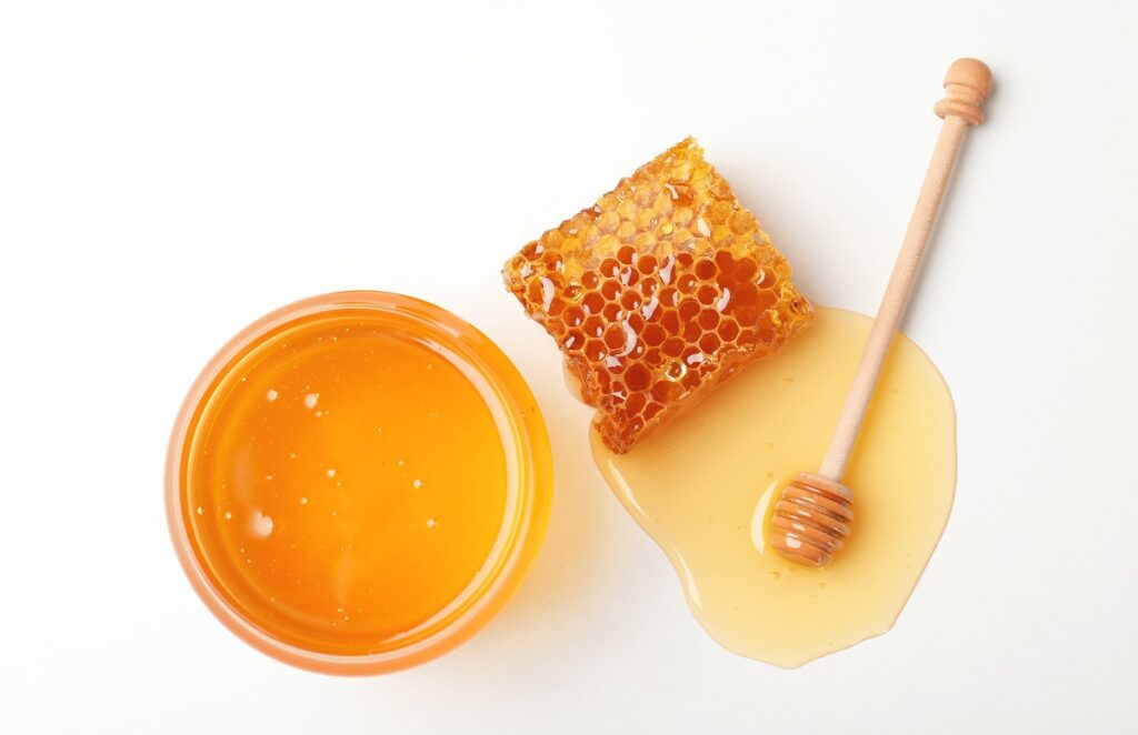 miele per feta fritta