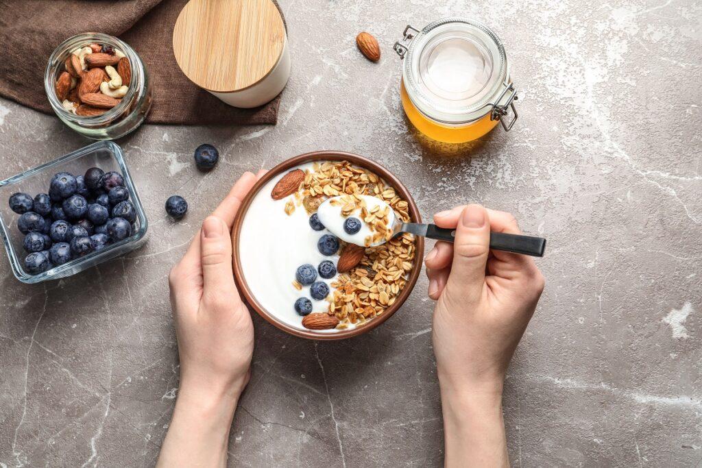 yogurt greco intestino sano
