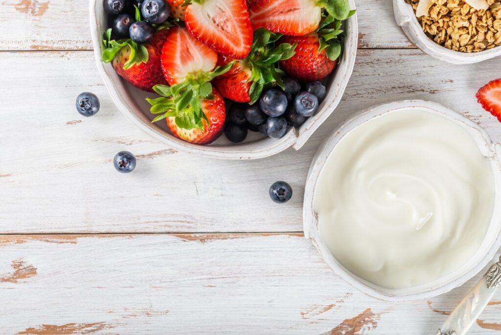 yogurt greco alleato della dieta dello sportivo