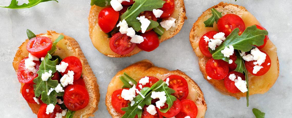 5 idee per deliziosi finger food facili a base di feta greca