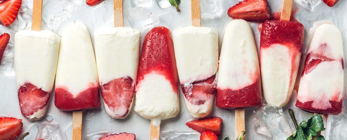 Caldo? Prova con un gelato allo yogurt greco!