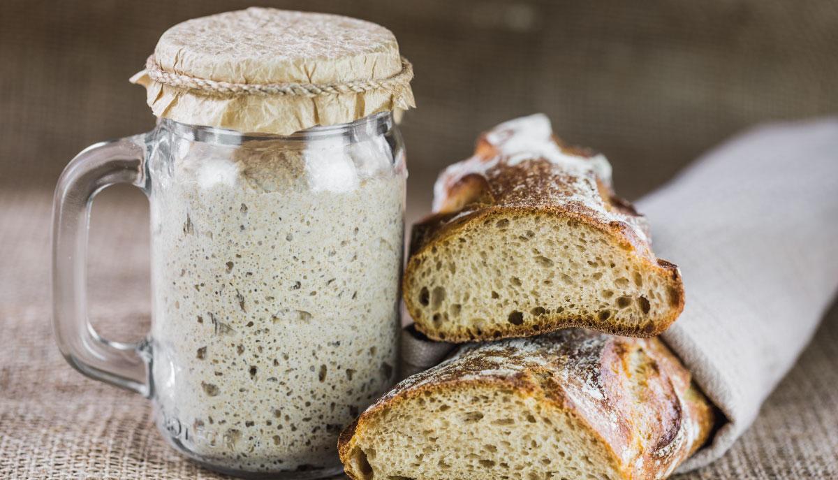 Sapevi che puoi realizzare il lievito madre con lo yogurt greco?
