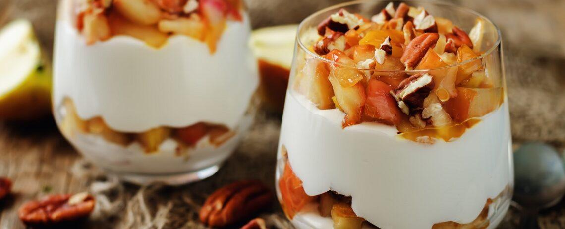 Colazione autunnale, qualche idea con lo yogurt greco